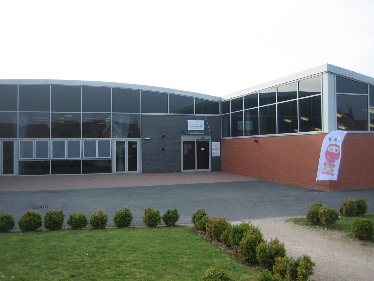 Outside Bidford Community Library
