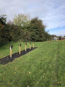 Trim Trail wooden posts
