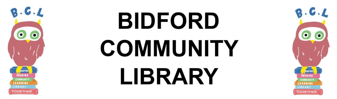 Bidford Community Library banner