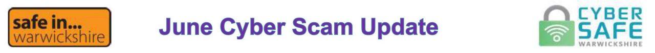 Cyber Scam Newsletter Banner