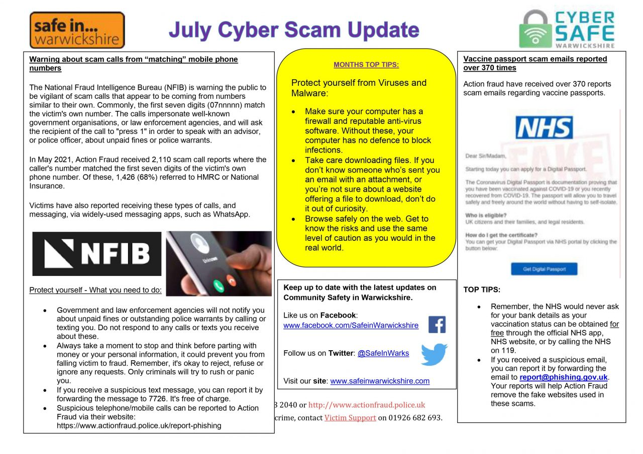 July Cyber Scam 2