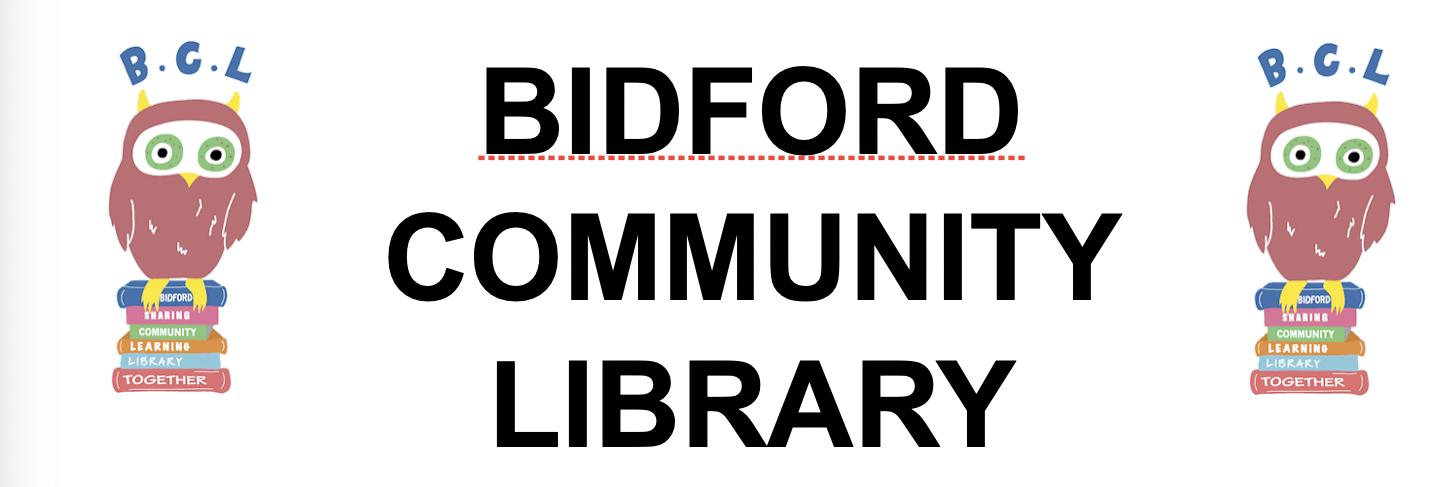 Bidford Community Library Banner