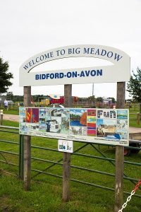 Big Meadow Welcome Sign